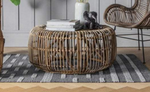 Prism Round Rattan Coffee table