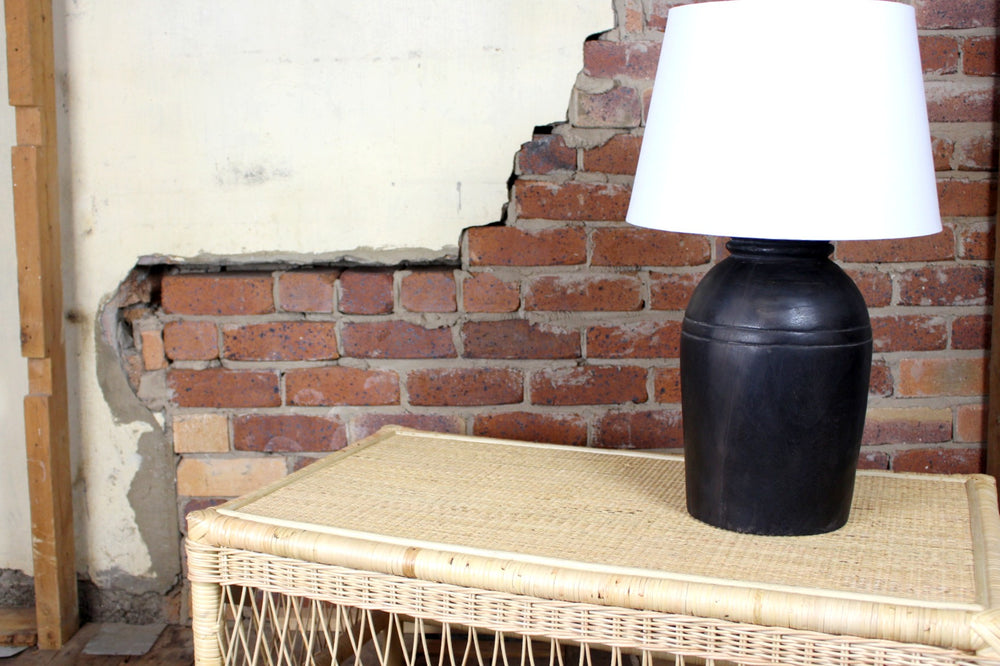 Tibba Wooden Table Lamp