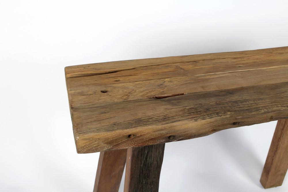 Walter Rustic Stool (Long)