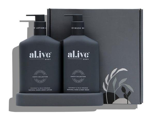 Al.ive Wash & Lotion Duo - Coconut & Wild Orange