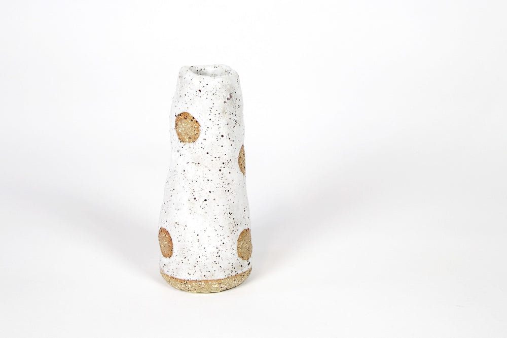 Angela Edwards organic short vase (Spots)