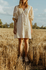 Apartment Clothing Beech Linen Empire Dress