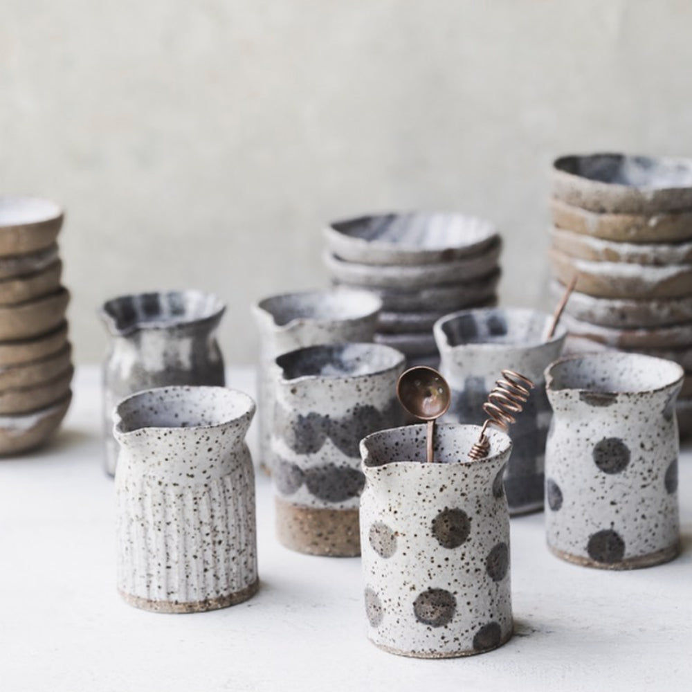 Clay Beehive Rustic Farmhouse Pourers