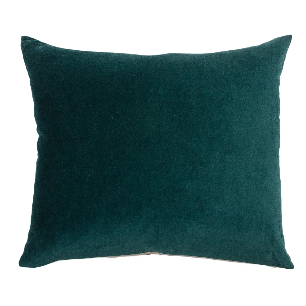 Essential Emerald Velvet Cushion