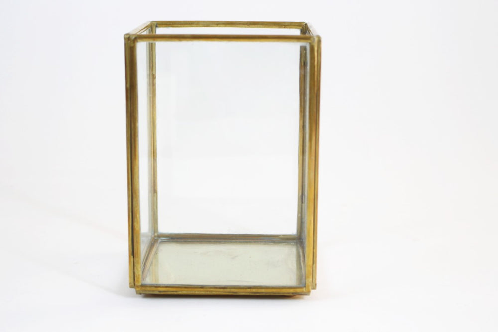 Brass and Glass Lantern