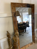 Henry Rustic Timber Mirror
