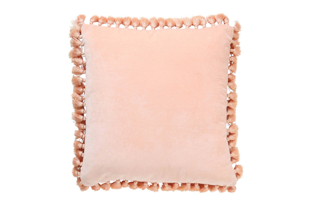 Kip & Co Peach Crumble Tassel Cushion