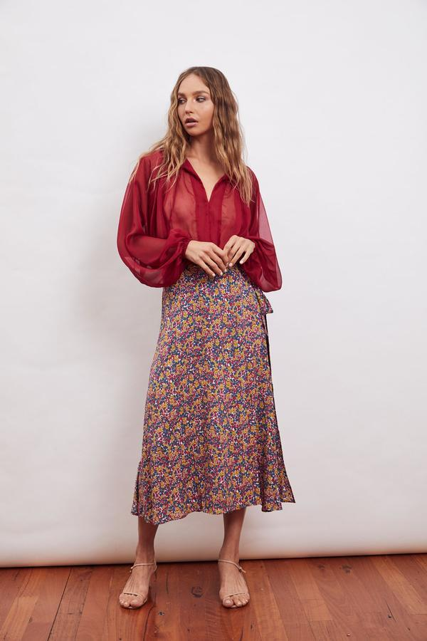 MLM Label Amara Wrap Skirt
