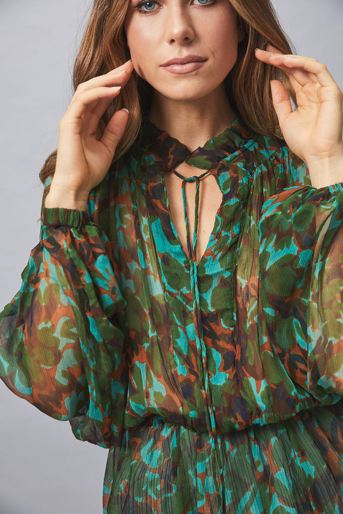 MLM Label Camille Silk Blouse
