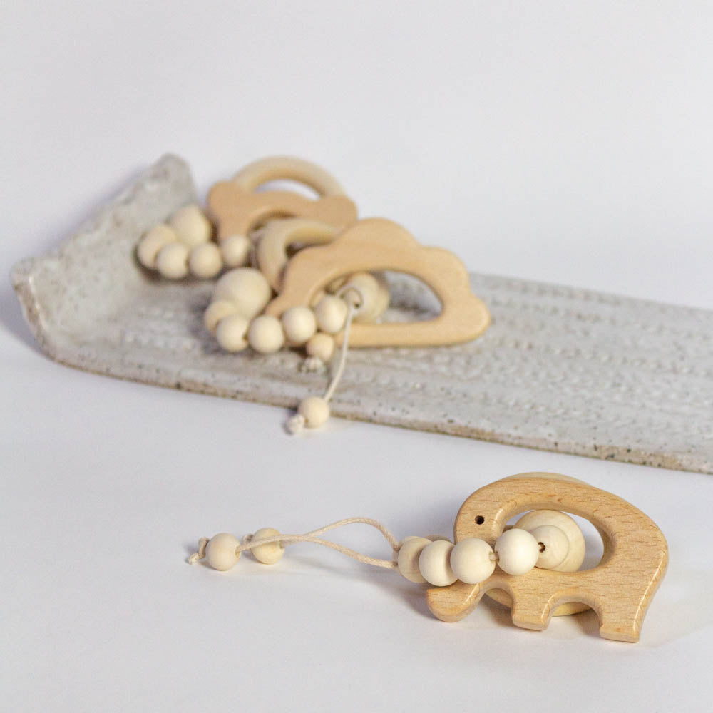 Natural Baby Teething Ring
