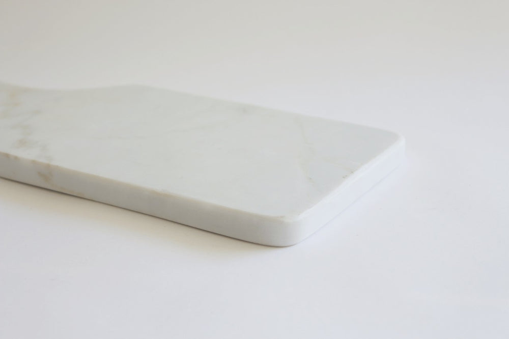 Rectangular marble cheese block