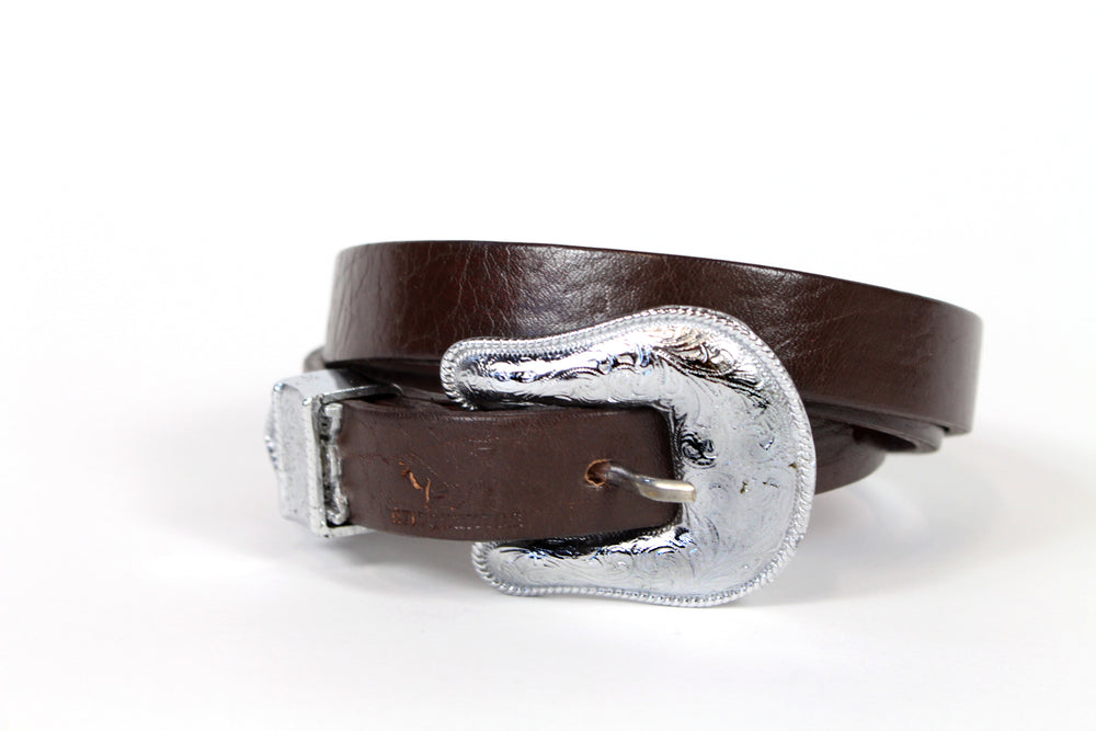 Stitch and Hyde Belt - Silver Western
