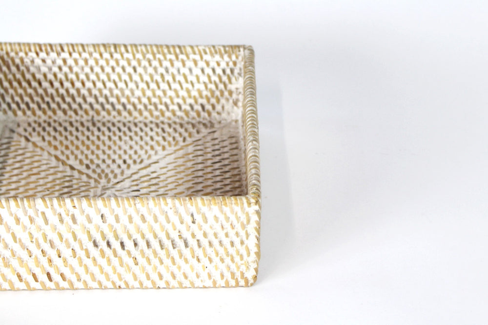 Rattan Tray Caddy