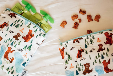 Bear Bros, Reusable Snack Bags