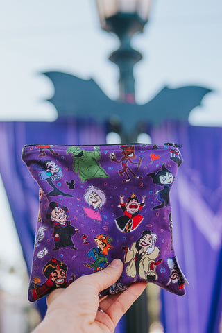 Reusable Snack Bags, Purple Villains