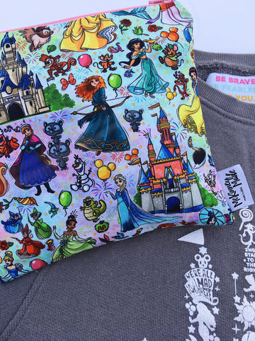 Princess Magic Land Reusable Snack Bags