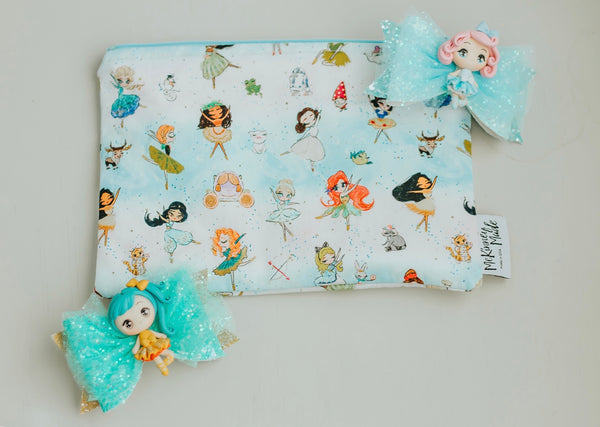 Ballerina Princess,  Reusable Snack Bags