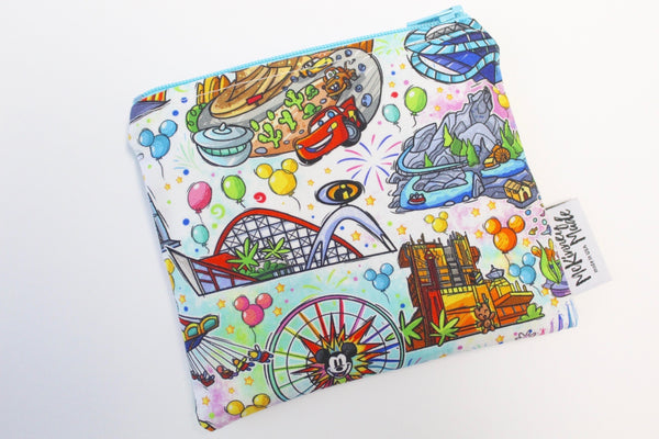 Adventure Rides, Reusable Snack Bags