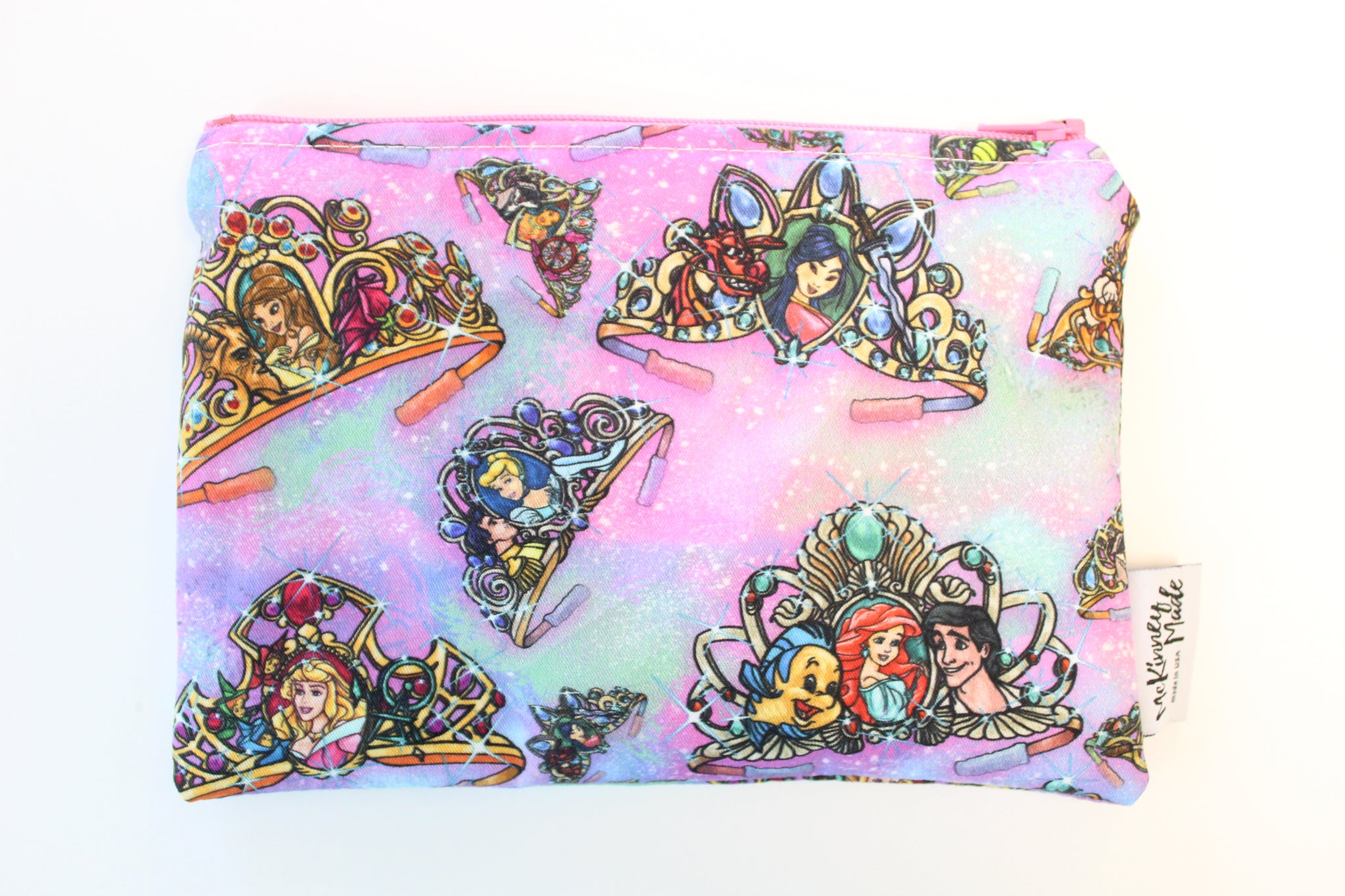 Princesses Crowns, Reusable Snack Bags