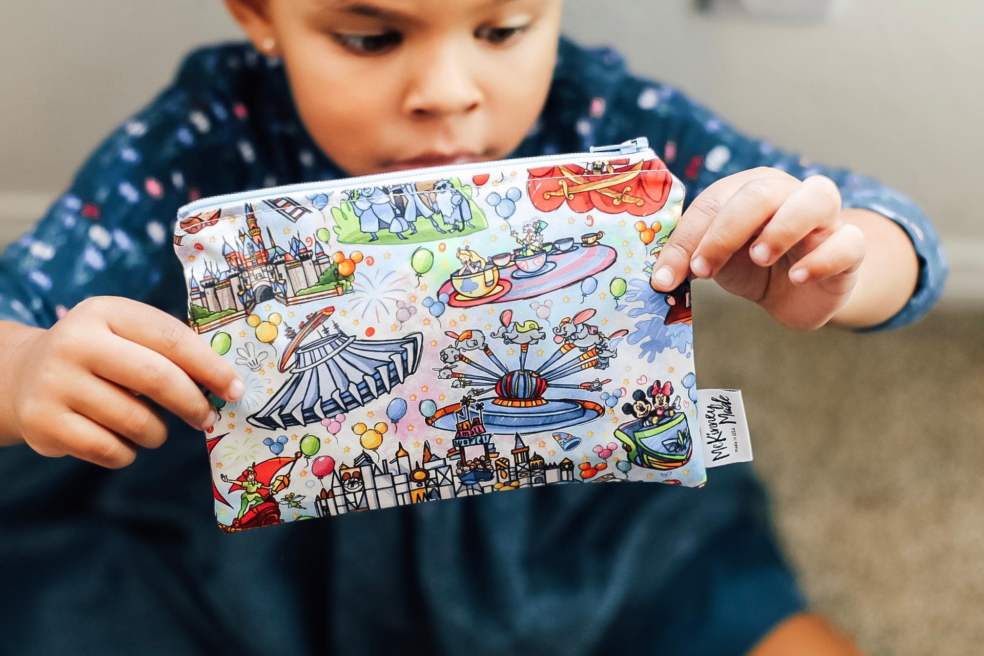 Magic Land Rides, Reusable Snack Bags