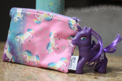 Reusable Snack Bags, Galaxy Unicorn
