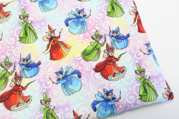 Sleepy Princess Fairies Coordinate Bags