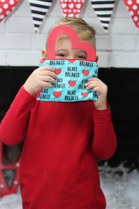 Heart Breaker, Reusable Snack Bags
