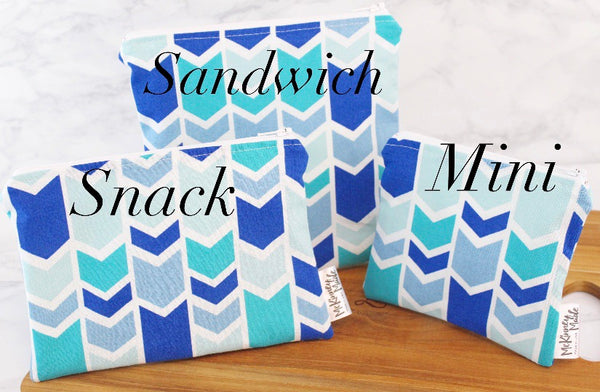 Wholidays, Reusable Snack Bags