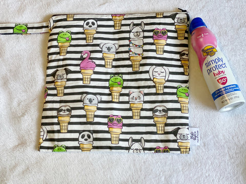 Animal Ice Cream Stripe, Made to Order