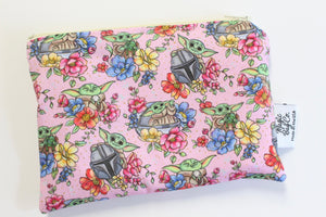 Floral Child Pink, Reusable Bags