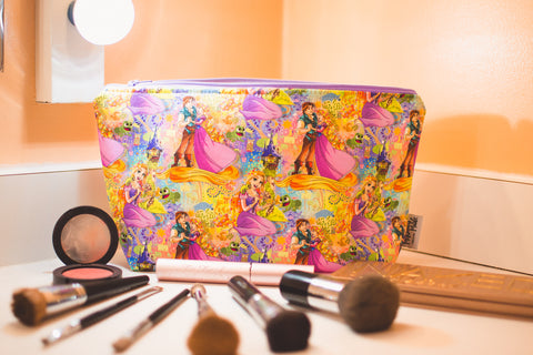 Punzie Paintings, Small Makeup Bag