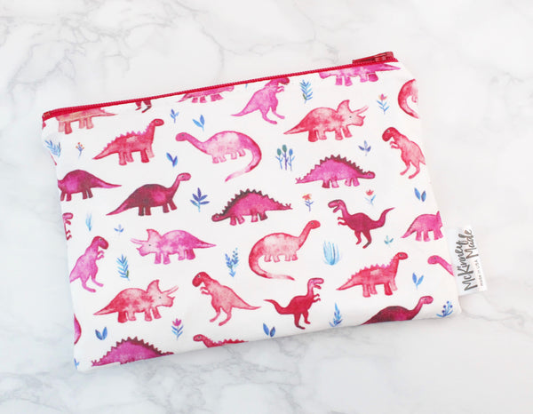 Water Color Dino's Magenta, Made to Order
