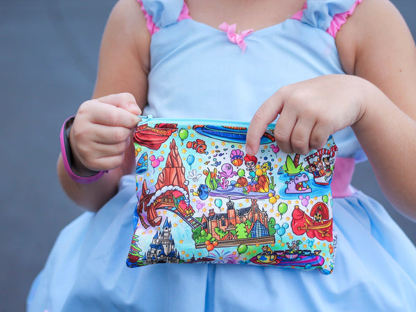 Magic World Rides, Reusable Snack Bags