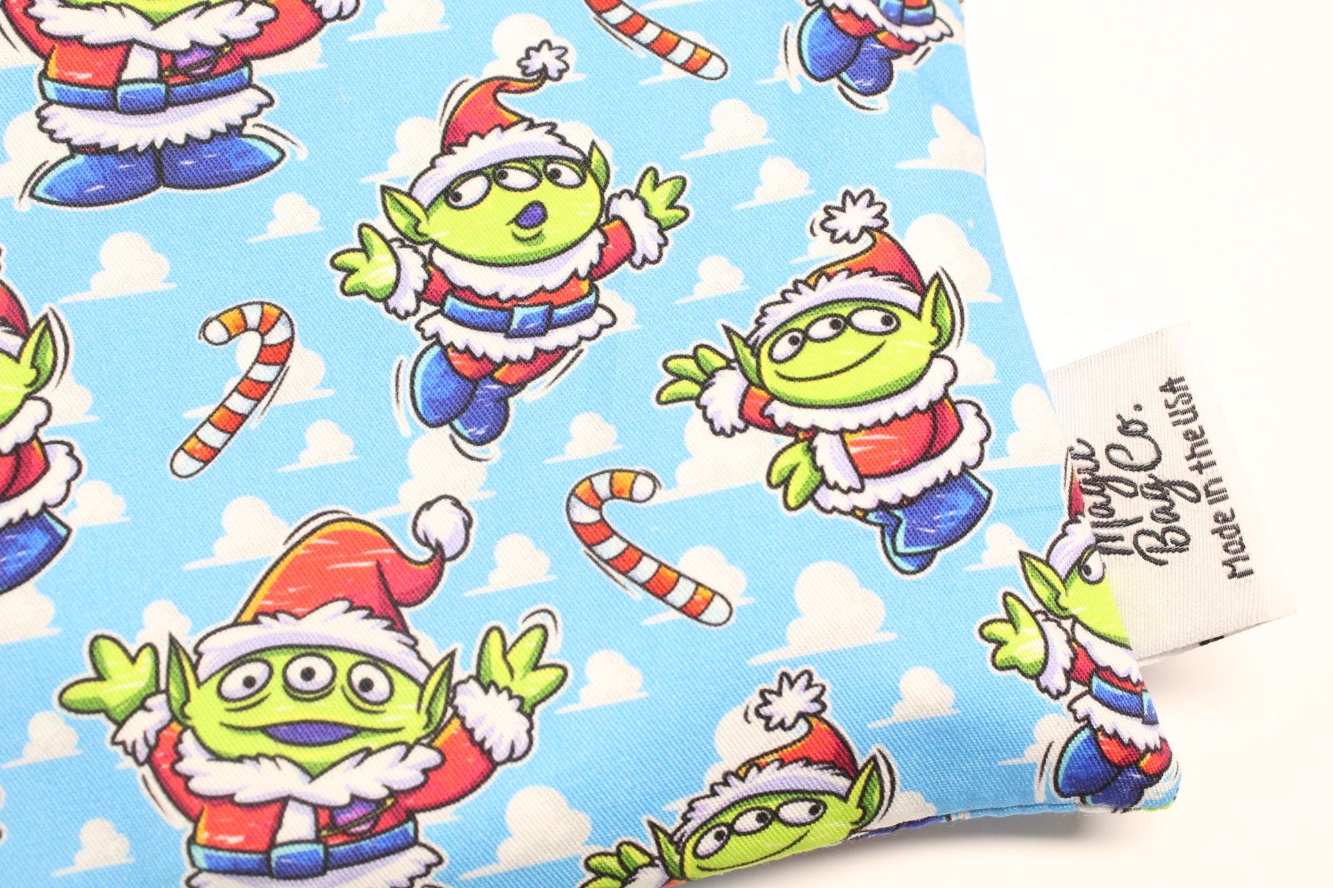 Santa Aliens, Reusable Snack Bags
