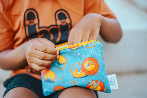 Little Lions, Reusable Snack Bags