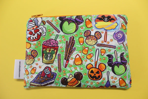 Tricky Snacks Green, Reusable Snack Bags
