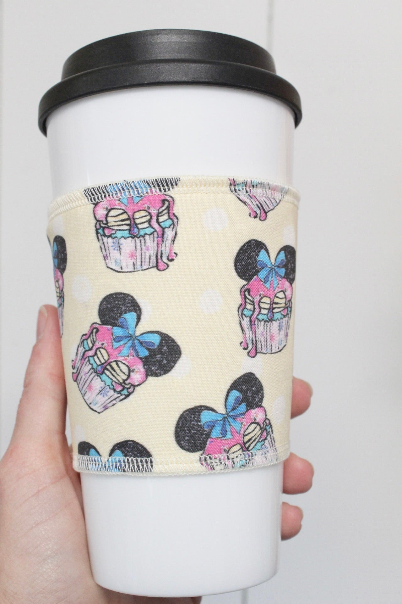 Mouse Cupcakes, Coffee Sleeve