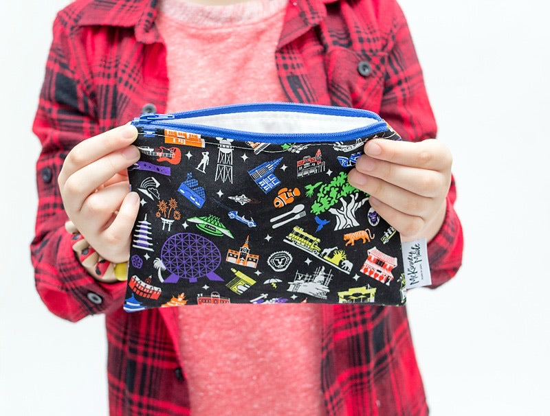 Midnight Parks, Reusable Snack Bags