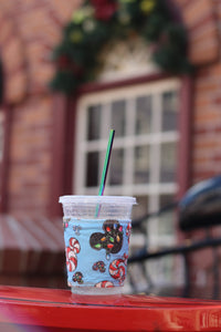 Mouse Mints Blue, Coffee Sleeve