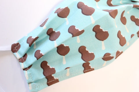 Mouse Bars Mint, Face Mask