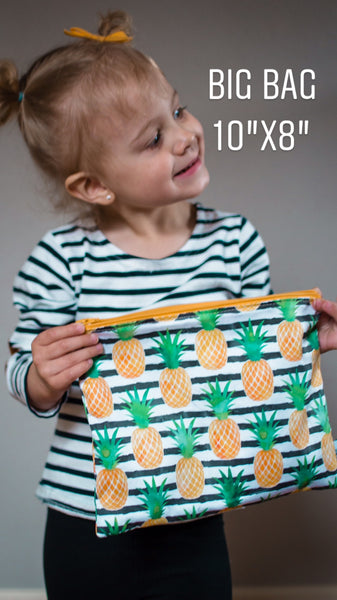 Child Park Snacks, Reusable Bags