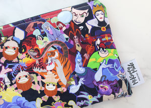 Villains Stacked, Reusable Snack Bags