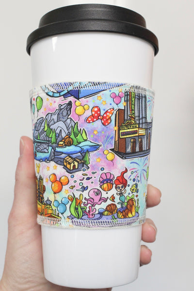 Adventure Rides, Coffee Sleeve