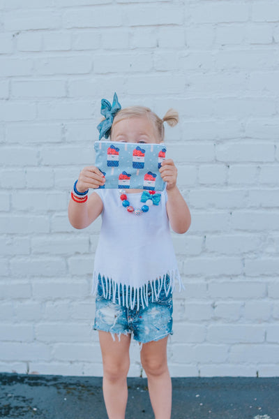 Cute Popsicles RW&B, Made to Order