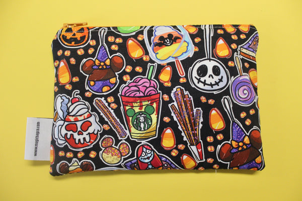 Tricky Snacks Black, Reusable Snack Bags