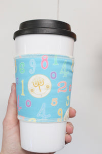 Small World Blue, Coffee Sleeve