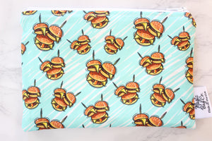 Mouse Burgers, Reusable Snack Bags