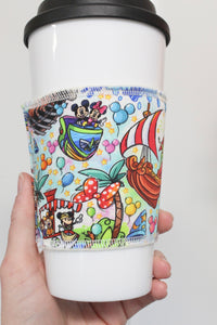 Magic World Rides, Coffee Sleeve