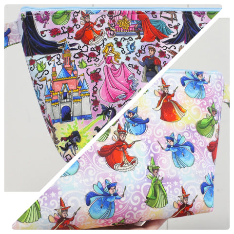 Sleepy Princess Magic Duo, Small Makeup Bag