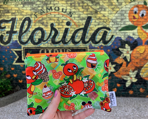 Orange Bird's the Word, Reusable Snack Bags